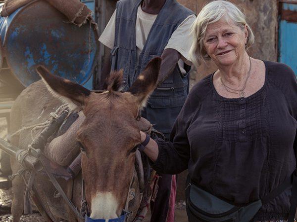 Ann Widdecombe in Mauritania