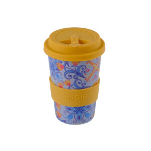 Moroccan Tile Rice Husk Cup top view